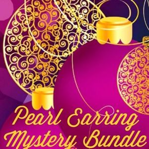 Super Deal!!  Reseller Pearl Earring Mystery Box